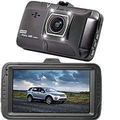 Car Dvr Dash cam Infrared with LED Light Night Vision 170 Degree Wide angle G-senser Loop recorder Parking Mode Video Registrator FHD 1920x1080P 16MP