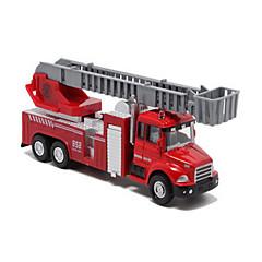 Paloauto Taaksepäin vedettävät ajoneuvot auton Lelut 1:60 Metalli Muovi Hopea Rakennuslelu