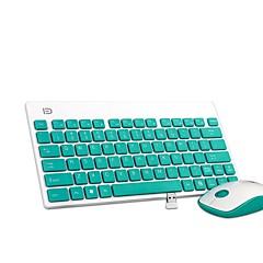 K1500 ultra draagbaar stille botton kantoor draadloos toetsenbord en muis combo