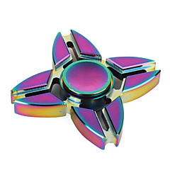 Fidget spinners Hand Spinner Speeltjes Vier Spinner Metaal EDCStress en angst Relief Kantoor Bureau Speelgoed Relieves ADD, ADHD, Angst,