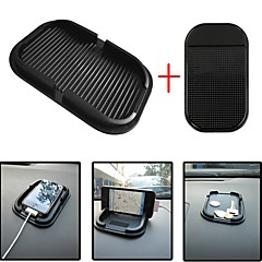 Ziqiao bil dashbord klistrelokk matte anti glidende gadget mobiltelefon gps holder interiør elementer tilbehør (giftscar liten glidbar
