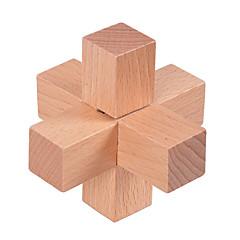 Puzzles Luban Verschluss Bausteine Spielzeug zum Selbermachen Holz Neuheiten & Gag-Spielsachen