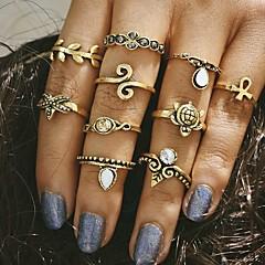 Midi prstenje Jewelry Jedinstven dizajn Vintage Moda Legura Jewelry Za Vjenčanje Party Dnevno Kauzalni 1set 1pc