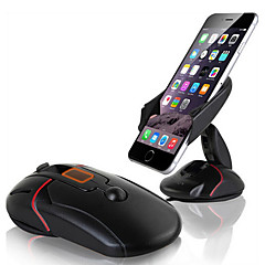 Ziqiao innovativ bilholder holder auto mobiltelefon holder dashboard forrude mobilholder holder musestativ mount støtte drejelig