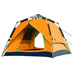 CAMEL 3-4 사람 텐트 더블 베이스 캠핑 텐트 원 룸 자동 텐트 용 캠핑 여행 CM