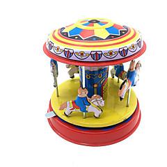 Aufziehbare Spielsachen Zylinderförmig Metall Kinder