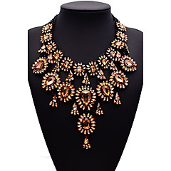 Women's Statement Necklaces Jewelry Jewelry Gem Alloy Fashion Euramerican Jewelry For Party Gift