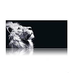 super stor størrelse 90cm * 40cm løve print spillet musematte matte laptop gaming musematte
