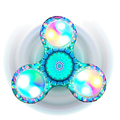 Fidget Spinner Hand Spinner Toys Tri-Spinner Plastic EDCFocus Toy Relieves ADD, ADHD, Anxiety, Autism Stress and Anxiety Relief Office