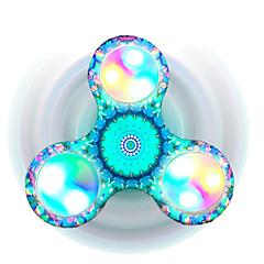 Toupies Fidget Spinner à main Jouets Tri-Spinner Plastique EDCSoulage ADD, TDAH, Anxiété, Autisme Soulagement de stress et l'anxiété