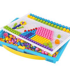 Puzzles Sets zum Selbermachen Holzpuzzle Logik & Puzzlespielsachen Bausteine Spielzeug zum Selbermachen Kreisförmig Quadratisch