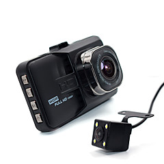 2017 Newest Mini Car DVR Camera Camcorder Dual Lens Dash Cam Two camera 1080P Full HD Video Registrator G-sensor Night Vision