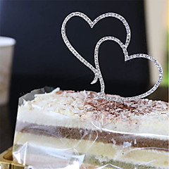 Wedding Cake Heart-Shaped Insert Card Birthday Wedding Accessories