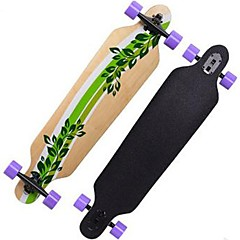 Esdoorn Dames Heren compleet Skateboards Standard Skateboards Patroon 32 Inch Lichtgewicht 608ZZ-Beige Rood
