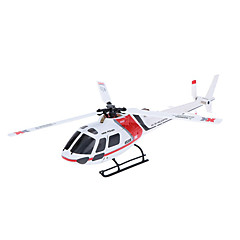 XK K123 6CH Brushless AS350 Scale 3D6G System RC Helicopter RTF Upgrade WLtoys V931