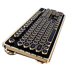 Thunderobot k60 interruptor azul cereja teclado mecânico com fio 104 teclas vapor punk interruptor marrom teclado de jogo