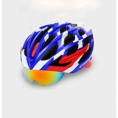 Naisten Miesten Pyörä Helmet 22 Halkiot Pyöräily Pyöräily