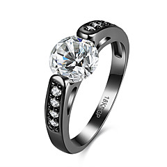 Dames Ring Uniek ontwerp Vintage Kostuum juwelen Modieus Kubieke Zirkonia Koper Verguld Sieraden Voor Verjaardag Feest/Avond Dagelijks