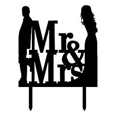 Διακοσμητικό Τούρτας Κλασσικό ζευγάρι Γάμου Πάρτι Ειδική Περίσταση Πάρτι/ΒράδυΠαραλία Θέμα Θέμα Κήπος Θέμα Πεταλούδα Κλασσικό Θέμα Θέμα