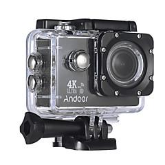 Andoer AN4000 sem fio 720P 1080P 4K 60fps 30fps 120fps 4X 2 CMOS 64 GB H.264 Multi Idiomas 40 M