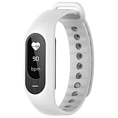 B15P Okos karkötő iOS AndroidVízálló Elégetett kalória Lépésszámlálók Sportok Szívritmus monitorizálás Érintőképernyő Vérnyomásmérés