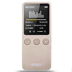 MP3Player8GB 32GB 3.5mm giriş Mikro SD Kartı 64GBdigital music playerTuş