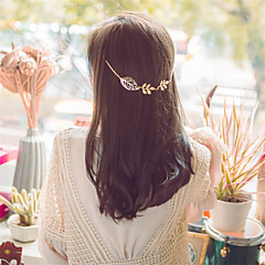 Europe and the United States foreign trade hair jewelry fashion han edition Leaves hair clip hair band A0126 contracted the van leaves