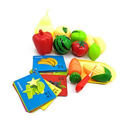 Hrajeme si na... Magnetické hračky Toy Foods Zelenina Friut Plast Dětské