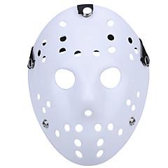 halloween nové porézní jason zabijáka maska bílá hustá 13. hororový hokej cosplay maska karneval maškarní strana kostým prop