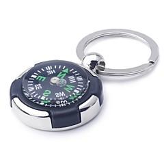 Ziqiao kompass nøkkelring nyhet nøkkelring kjede nøkkelring sinklegering gave