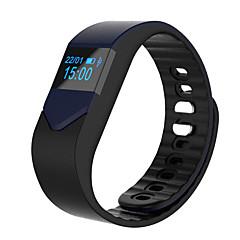Pulseira Inteligente Android iOS Impermeável Suspensão Longa Calorias Queimadas Pedômetros Saúde Esportivo Monitor de Batimento Cardíaco