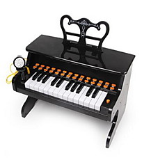 Instrumentos de brinquedo Quadrada Piano Instrumentos Musicais Plásticos Plástico Duro