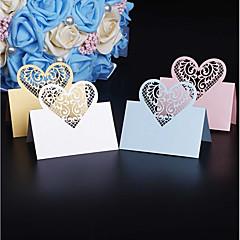 Hârtie cărți de masă Tabelul Center Pieces-Personalizat Suporturi carduri loc Piece / Set