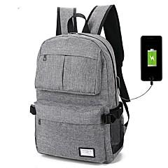 Laptop Rucksack Freizeit Reisetasche usb wiederaufladbar
