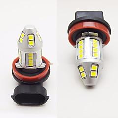 2pcs carro fábrica design super brilhante 120w 6000lm levou névoa luz h1 h3 h4 h8 h9 h10 h11 9005 9006 can-bus erro livre farofonada