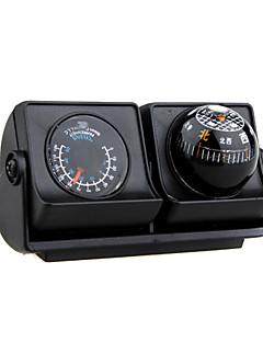 autovetture veicoli bussola di navigazione a sfera con termometro - Angolo regolabile LP-503 (szc2396)