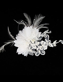 Women's Satin / Lace Headpiece-Wedding / Special Occasion Fascinators