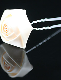 Women's / Flower Girl's Satin Headpiece-Wedding / Special Occasion / Office & Career / Outdoor Hair Pin