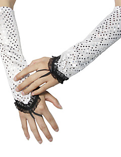 Opera Length Fingerless Glove Spandex Party/ Evening Gloves