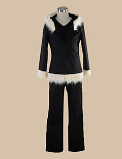 Inspirovaný DuRaRaRa Izaya Orihara Anime Cosplay kostýmy Cosplay šaty Jednobarevné Czarny Vrchní deska