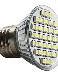Ampoule LED Spot Blanc Naturel (230V), E27 60-3528 SMD 3-3.5W 6000-6500K