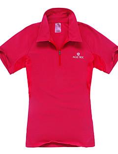 Women's Polo Shirt / T-shirt Camping / Hiking / Climbing / Leisure Sports Quick Dry / Moisture Permeability Spring / Summer / Fall/Autumn
