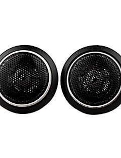 500W Mini Car Speakers, Black, Pair, DC 12V