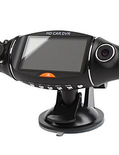 2,7-Zoll-Display 1280x480 Auto DVR mit Dual-Kamera, Nachtsicht