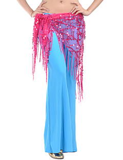 Dancewear Polyester With Sequined Belly Dance Hip Scarf/Belt for Ladies