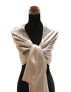 nydelig silke bryllup / spesiell anledning skjerf / sjal (flere farger)