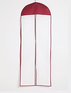coton imperméable / tulle robe zip centre vêtement sac longueur