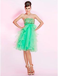 BETTE - שמלת קוקטיל מ- אורגנזה