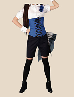 Ciel Phantomhive blu ver. ⅱ costume cosplay