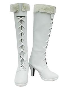 NICO Robin White Cosplay Boots